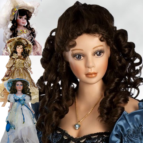 rosemary's aesthetic was inspired greatly by victorian porcelain dolls.